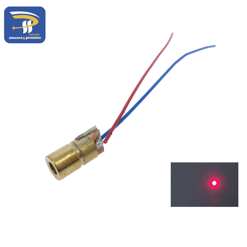 10pcs Laser Diodes 5mW 650 nm Diode Made Of Brass Shell Material 1