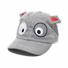 Niños lindos niños niñas dibujos animados patrón sombrero de la boina  sombreros de sol para niños 27ced014ef8