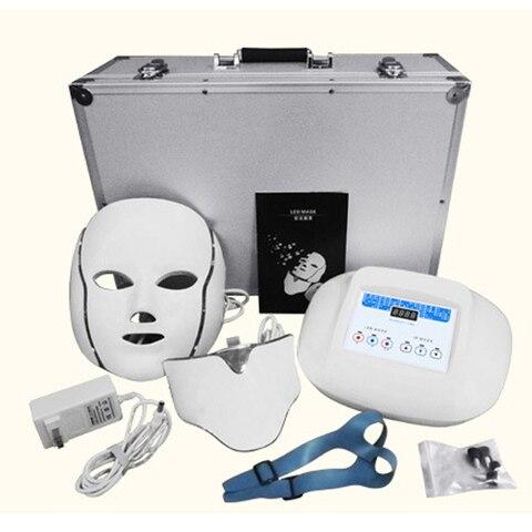 mascara de led foton instrumento pescoco casa clareamento facial cuidados da pele proponente e instrumento