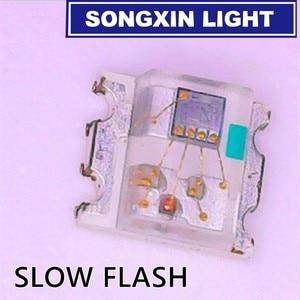 Image 2 - 1000 diodo colorido 0805*2.0*1.8mm do rgb dos pces 0.8 rgb cintilação multicolorido 0807 diodo led smd piscando rápido lento piscando com ic