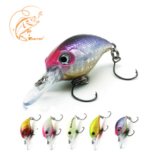 Thritop Crank Fishing Lures Skilled Synthetic Onerous Bait TP065 3cm 2.5g 5 Numerous Colours for Possibility Fishing Bait Sharp Hook