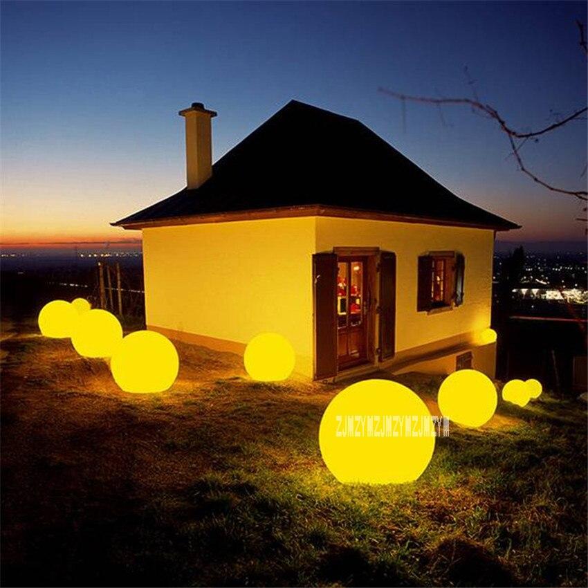 4 шт./лот 20 см зарядки Дистанционное управление LED подсветкой мяч Бассейны плавающий шар света для праздников 100-240 В лидер продаж