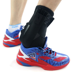 Image 5 - Kuangmi Ankle Brace Support Sports Adjustable Ankle Straps Foot Stabilizer Orthosis Football Compression Ankle Socks Protector