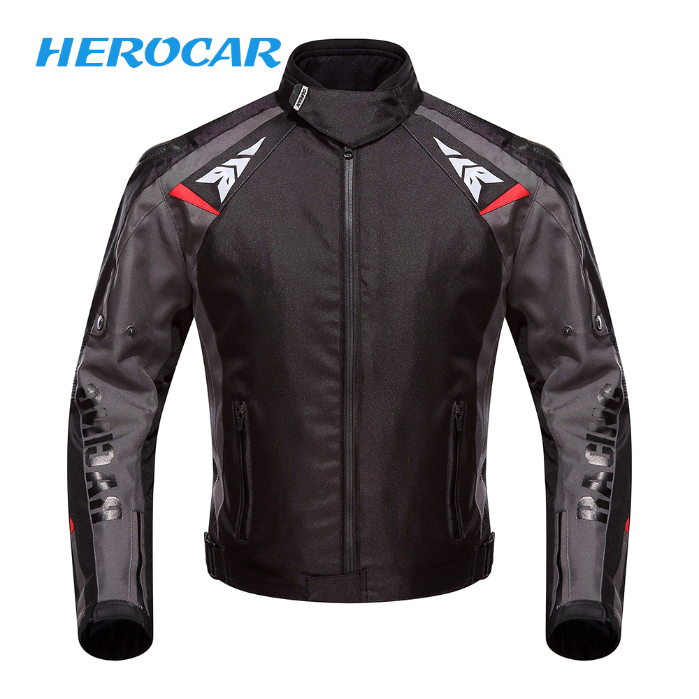 DUHAN Motorcycle Jacket Moto Autumn Winter Waterproof Cold proof Biker Jacket Men Motorbike Riding Clothing Protective