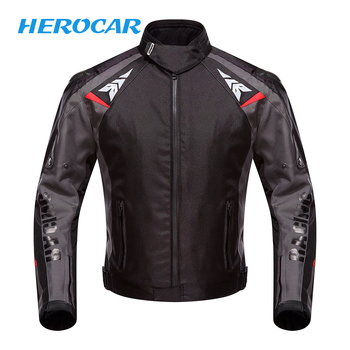 44f0e49a3e5 Chaqueta de motocicleta DUHAN Moto Otoño Invierno impermeable chaqueta de  motorista a prueba de frío para hombre Moto