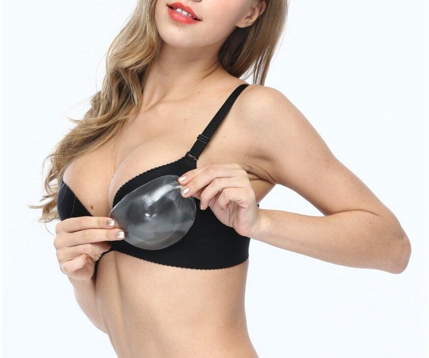 US Women Enhancer Push-Up Bra Pads Silicone Gel Sponge Inserts Soft Breast Pad