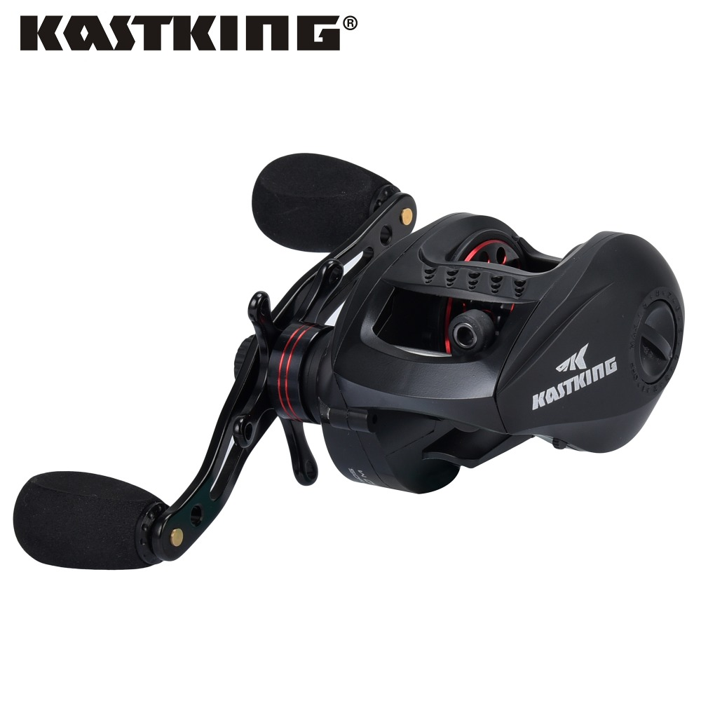 KastKing Speed Demon 9.3:1 Gear Ratio 12+1 Ball Bearings Baitcasting Reel Ultralight Body Bait Casting Fishing Reel free shipping by ems fishing reels baitcasting reel daiwa megaforce ths gear ratio 7 3 1 six ball bearings right