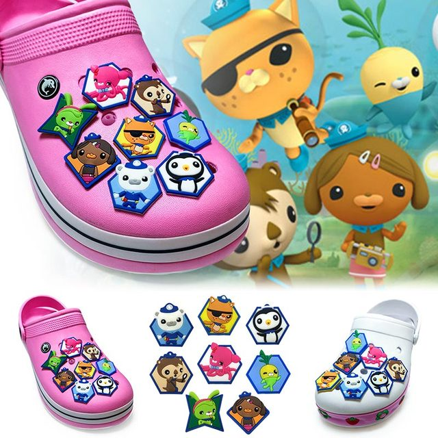 a02fe0473417 Aliexpress.com   Buy Novelty 1pcs Cartoon The Octonauts PVC Shoe ...
