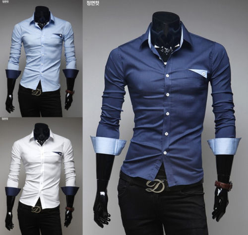 Compare Prices on Button Down Shirts Fitted- Online Shopping/Buy ...