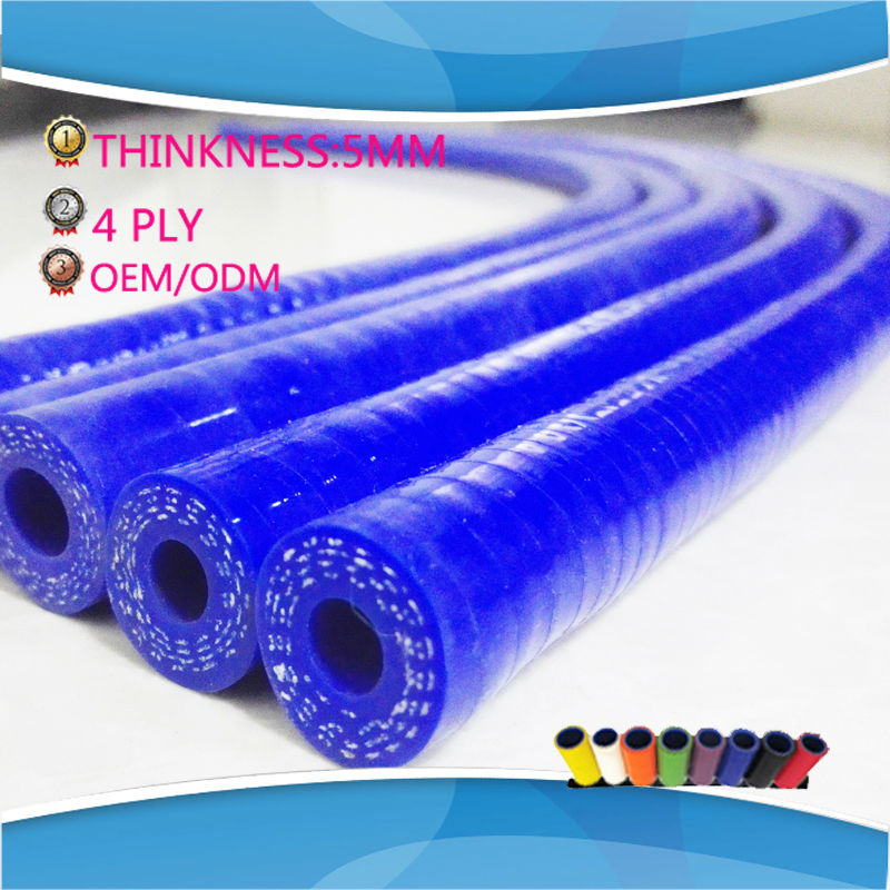 1 Meter Length Silicone Straight Hose Tube Pipe ID 10MM