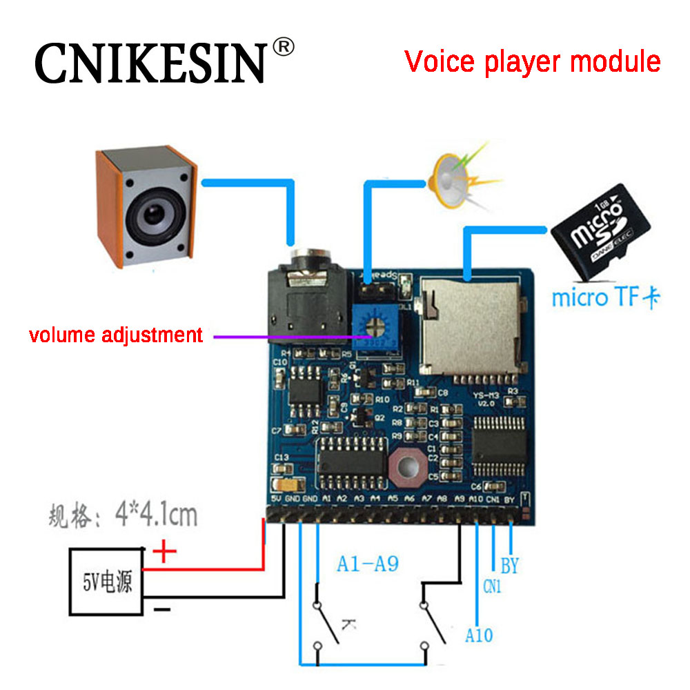 Mp3 Player Module Mini Audio Voice Board By8301 Schematic Diagrams Circuit Rev C Cnikesin Trigger Once Broadcast A Device I3b2