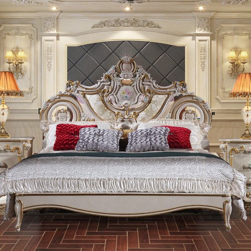 2017 venta Caliente rey tamaño de cama para hotel y restaurante ...