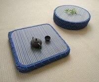 5センチ厚い茶道ラッシュコテージマットレスパッドに座る礼拝仏マット肥厚瞑想マッ