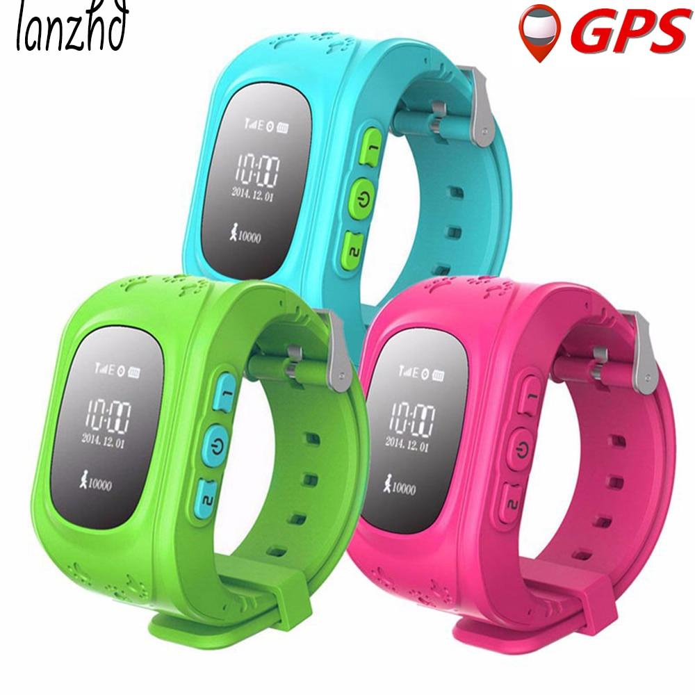 Q50 Smart Watch Children Kid Safe GPS Tracker Watch Wristwatch GSM SOS Anti Lost Smartwatch for