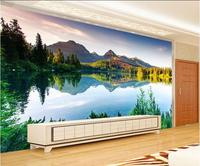 3d Wallpaper Custom Mural Non Woven 3d Room Wallpaper 3d Fairyland Scenery Lake Landscape Murals Photo