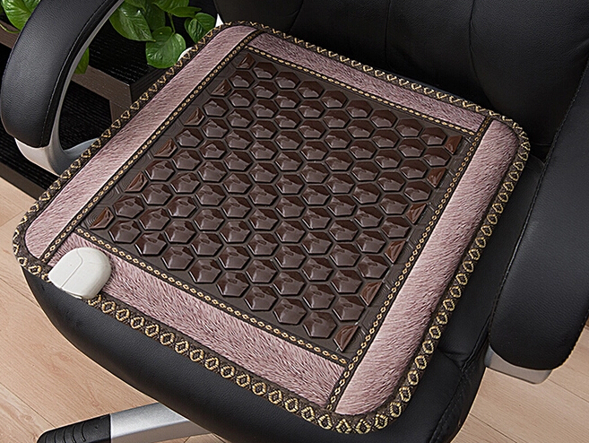 Hot Selling Health Care Jade Cushion Pad Far Infrared Germanium Stone Cushion Tourmaline Heated Cushion Free Shipping best selling korea natural jade heated cushion tourmaline health care germanium electric heating cushion physical therapy mat