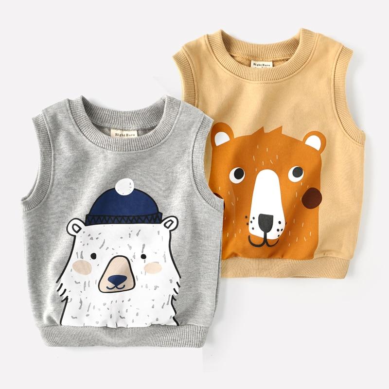 Fashion 2017 Family V-neck Vests Embroidery Uniform Clothing Boys Preppy dog Style Equipment Performance Knit Vest