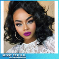 Glueless Lace Front Bob Wigs For Black Women Synthetic Lace Front Wig Fashion Short Wave Wigs Black Short Synthetic Bob Wigs