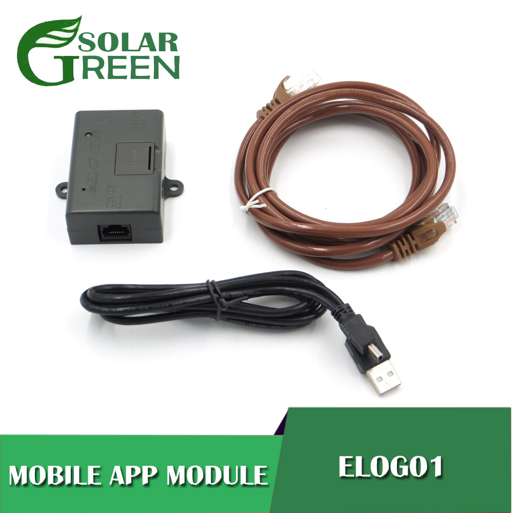 eLOG01 PC soft RS485 record time EPsolar solar controller PC software RS485 interface Tracer1210AN Tracer2210AN Tracer3210AN image