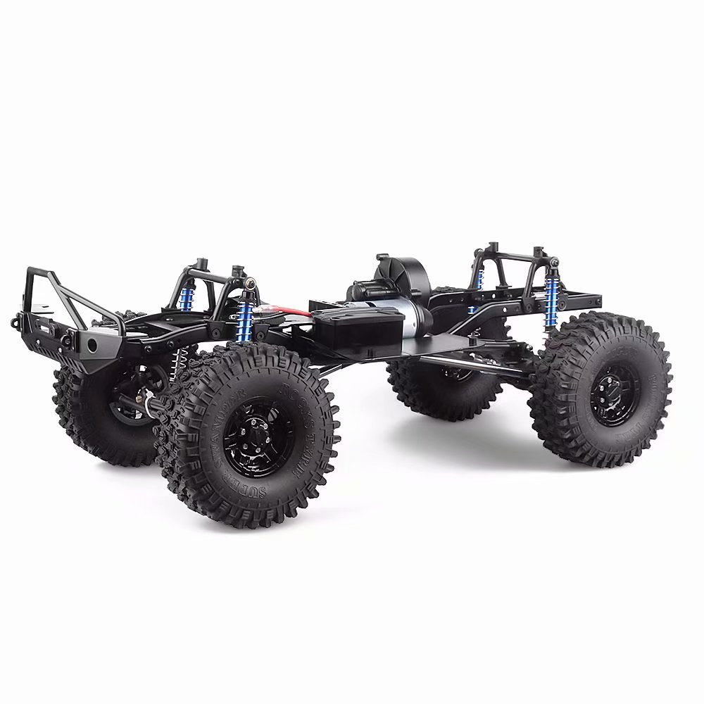 1/10 RC 313mm 12.3 Wheelbase Assembled Frame Chassis for SCX10 SCX10 II 90046 90047 RC Crawler Car1/10 RC 313mm 12.3 Wheelbase Assembled Frame Chassis for SCX10 SCX10 II 90046 90047 RC Crawler Car