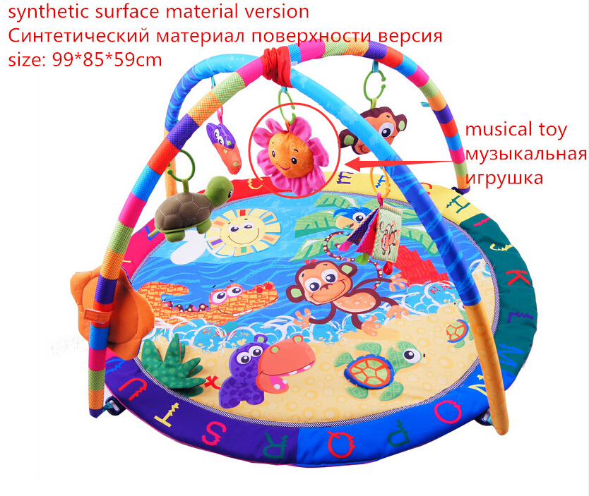 Activité de Jeu pour bébé Tapis Bébé Gym Éducatifs Fitness Cadre Multi-support Bébé Jouets Jeu Tapis - 2