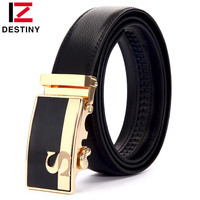DESTINY S Famous Designer Belts Men High Quality Leather Belt Automatic Fashion Luxury Logo Brand Waist