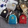 Diseñador de Cuero Mini bolso de la Moneda Monedero de La Cartera Clave Llavero Anillo llavero Key Holder Mujeres Accesorios Del Bolso Colgante