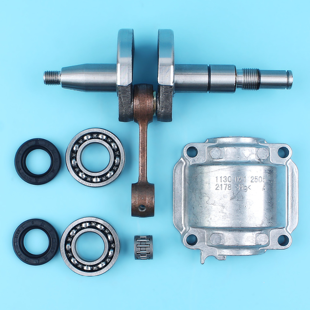 Crankshaft Bearings Engine Cylinder Pan Oil Seals Needle Kit For STIHL 018 MS170 MS180 MS 170 180 Chainsaw Overhaul Parts