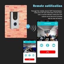 Étanche Smart wifi Vidéo Sonnette Vision de Nuit Infrarouge Mobile à distance interphone PIR Système D'alarme de téléphone portable