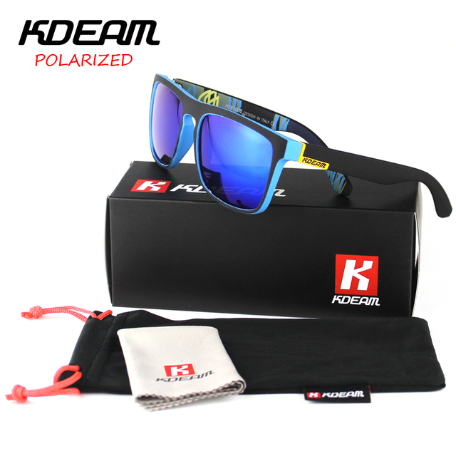 KDEAM KD156 Polarized Sunglasses Square