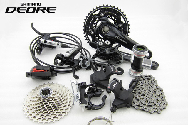 ec77e7ebe18 SHIMANO DEORE M610 2x10S 20 Speed Groupset With M6000 OR M615 Hydraulic  Disc Brake MTB Mountain Bike Derailleurs BB goup set