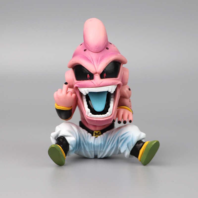 11cm anime dragon ball inversamente lutador z majin buu célula pvc figura de ação brinquedos modelo miúdo buu freeza frieza fina com caixa