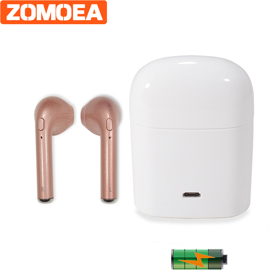 цены ZOMOEA Bass earphone earbuds running stereo sport bluetooth headset wireless headphones for iphone Android With microphone