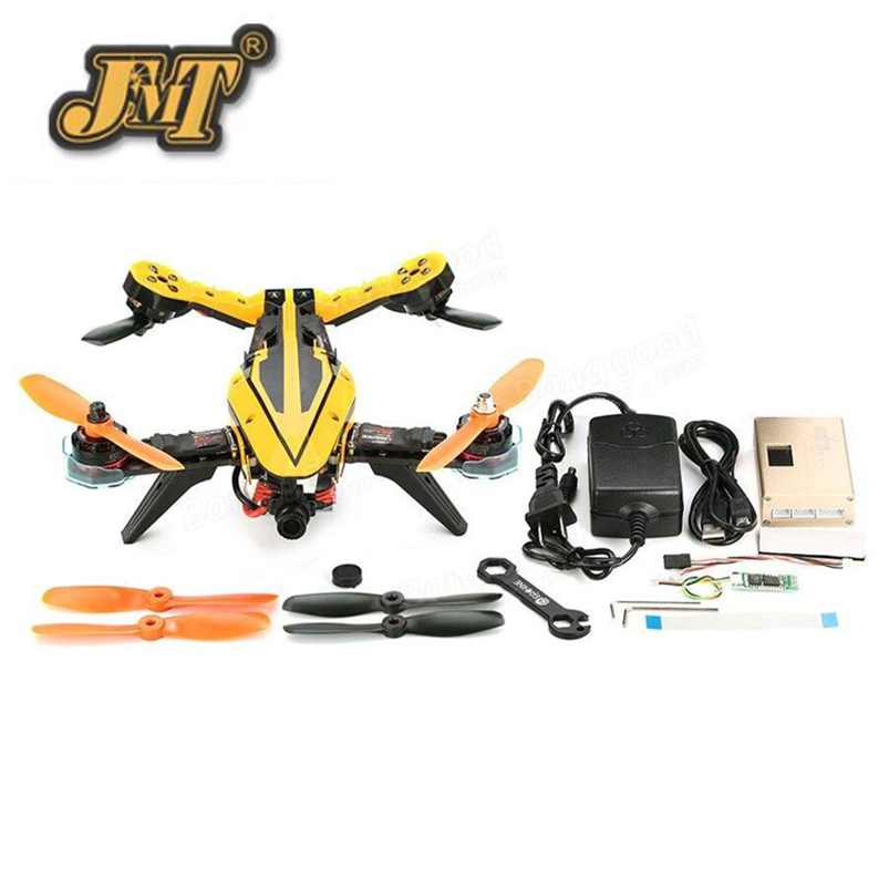 JMT V-Tail 210 FPV Drone 1080P HD DVR SP Racing F3 Flight Controller 5.8G 40CH 200mW VTX OSD ARF GPS RC Multicopter eachine ts5840 upgraded 40ch 5 8g 200mw wireless av transmitter tx for fpv multicopter