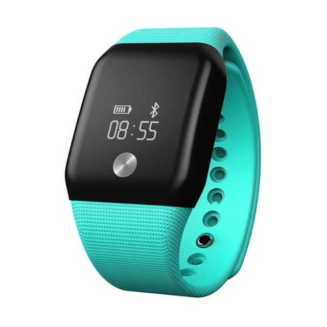 A88+ Bluetooth 4.0 Smart Bracelet Blood Oxygen Heart Rate Sleep Monitor Pedometer Men Women Watch Call Reminder for Android iOS
