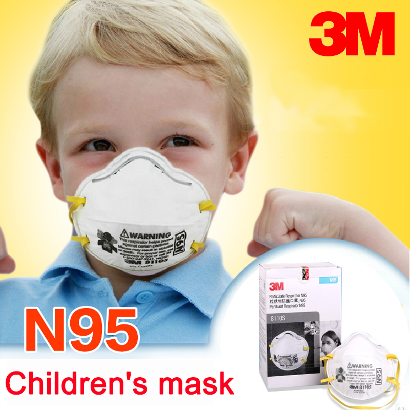3m 8110s n95 children dust mask respirator particulate. Black Bedroom Furniture Sets. Home Design Ideas