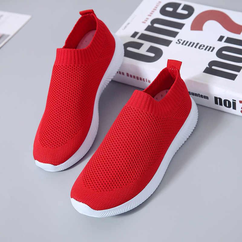 Scarpe da donna di sport scarpe da ginnastica di moda bianco scarpe comode antiscivolo resistente all'usura delle donne scarpe da ginnastica 2020 nuove scarpe da corsa donna