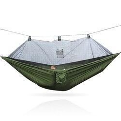 נייד קמפינג ערסל תליית מיטת עם יתושים
