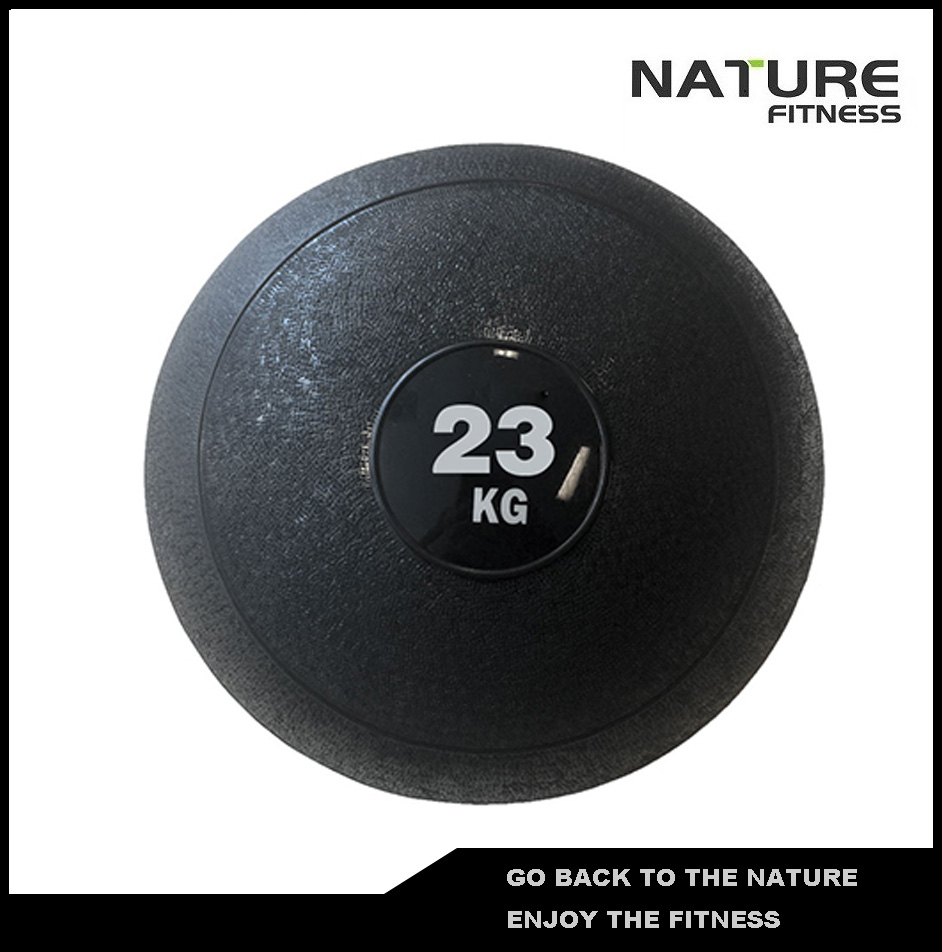 23kg Slam/Dead Ball For Core Fitness, Endurance, Co-ordination, Flexibility and Cross Fi ...