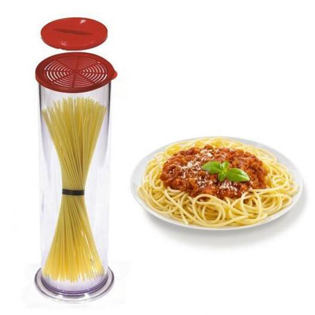 Pasta Express Noodle Cooker Spaghetti Making Cooks Tube Container Fast Easy Pasta Cook Tube Cup DROP SHIPPING 3