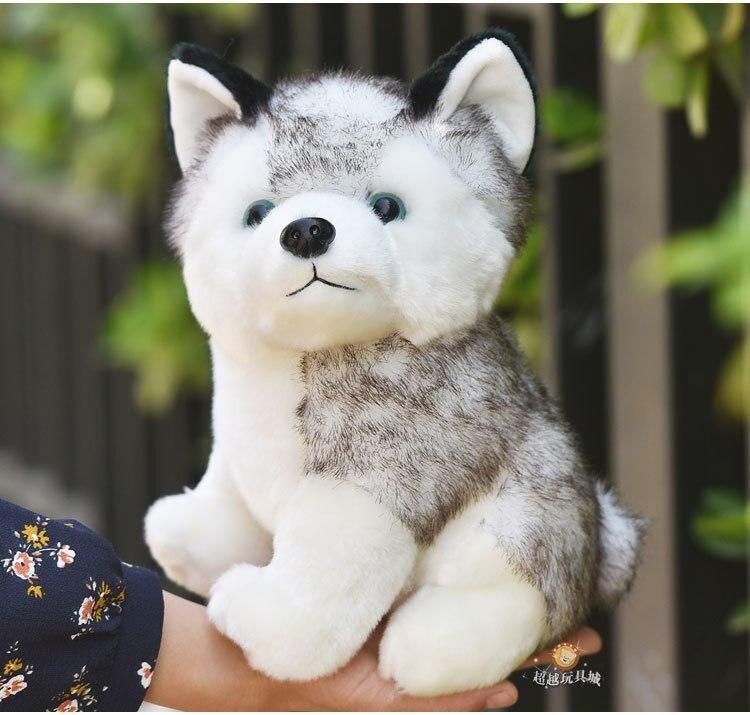 Image 4 - Kawaii Puppy Stuffed Toys 10/20cm Cute Simulation Husky Dog Plush Toys Stuffed Doll Kids Baby Toys Plush Husky Dolls-in Stuffed & Plush Animals from Toys & Hobbies