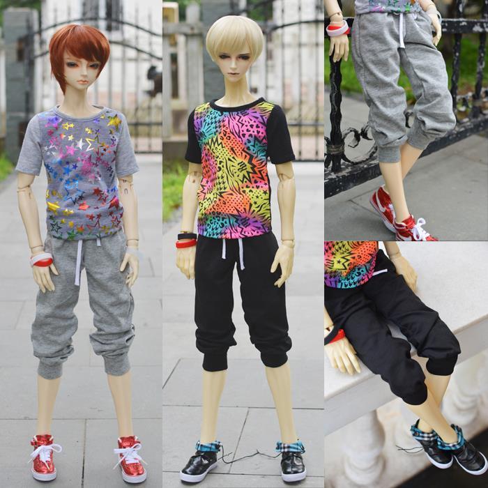 ФОТО BJD doll clothes male sports set - uncle 1/3 1/4