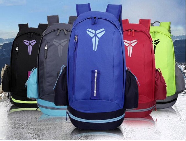 973014c6a8 KOBE Nylon Men Backpacks Basketball Bag Sport Backpack School Bag For Teenager  Outdoor Travel Backpack Sac A Dos Marque Mochila