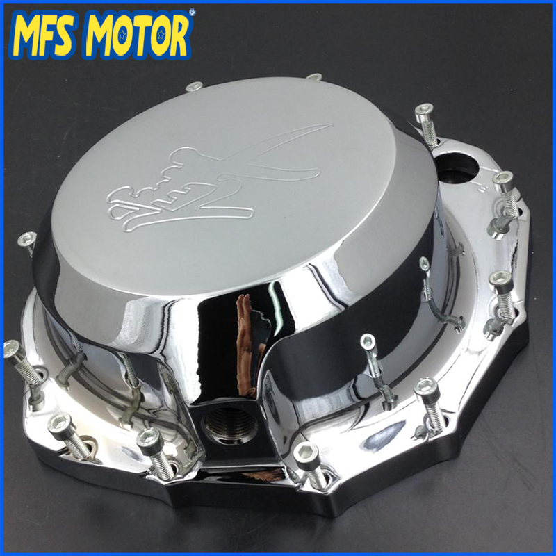 Freeshipping Motorcycle right side Engine Clutch cover For Suzuki Hayabusa GSXR1300 1999-2013 B-king 2008-2009 CHROME aftermarket free shipping motorcycle accessories engine clutch cover for suzuki hayabusa gsxr1300 1999 2013 b king black right s