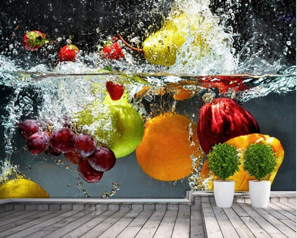 Custom kitchen wallpaper fruit and vegetables for the restaurant kitchen wallpaper mural backdrop 3D waterproof vinyl wallpaperCustom kitchen wallpaper fruit and vegetables for the restaurant kitchen wallpaper mural backdrop 3D waterproof vinyl wallpaper