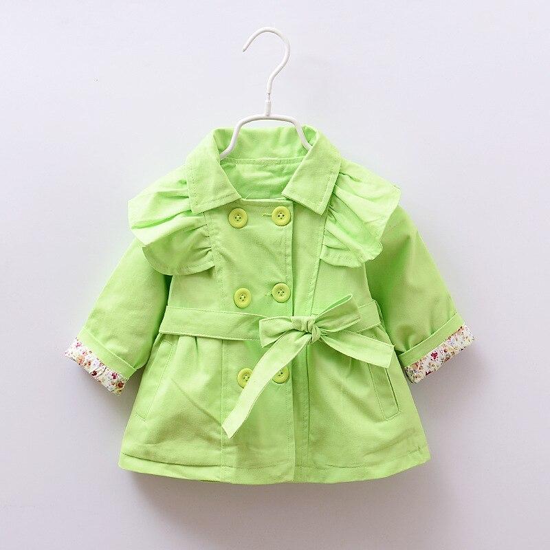 ᗑ2016 Nueva primavera y otoño niña ropa moda casual abrigos bebés ...