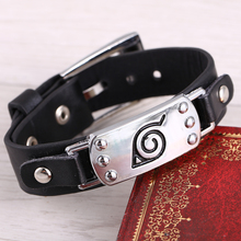 Fashionable Naruto's Leather Bracelets / Bangles
