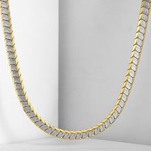 5mm Womens Mens Chain Unisex Boys Girls Cut Scales Nugget White Yellow Gold Filled GF Necklace GN331(China)