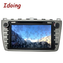 Idoing 2Din Android6.0 DVD Мультимедиа Видео плеер для Mazda 6/Ruiyi/ultra GPS навигации 8 core стерео радио 1080 P 2 г + 32 г