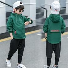 Child Jacket Outerwear Hooded-Coat Windbreaker Autumn Boy Kid 10-11 5 6 8 9 Zipper 12-Years